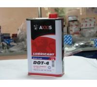 Жидкость торм. AXXIS DOT4 (Канистра 1л)