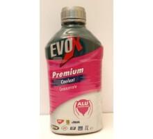 Антифриз концентрат Evox Premium красный (пр-во MOL) 1L.