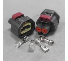 Разъем 2-х контактный мотора стояночного тормоза, электроручника (КИТАЙ) Renault Megane II, Scenic III
