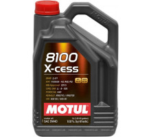 Моторные масла  5W30 8100  MOTUL X-CLEAN 1L